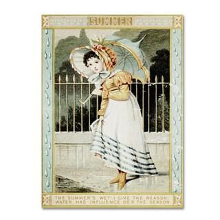 Vintage Apple Collection 'Summer Rain' Canvas Art