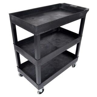 Luxor Black High Capacity 3-shelf Tub (4 options available)