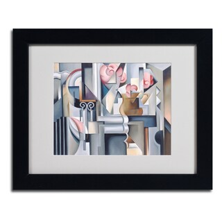 Catherine Abel 'Still Life With Brown Jug' Framed Matted Art
