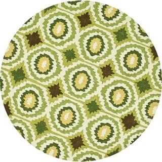 Hand-Tufted Portia Lime Rug (7'10 x 7'10R)