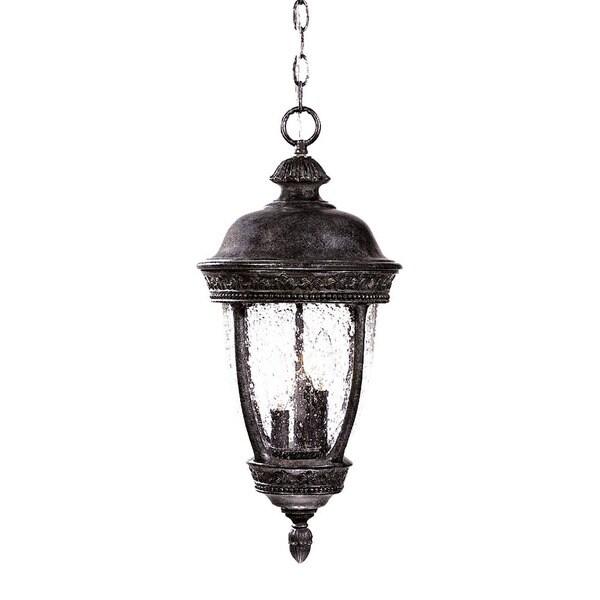 Shop Fleur De Lis Collection Hanging Lantern 3 Light