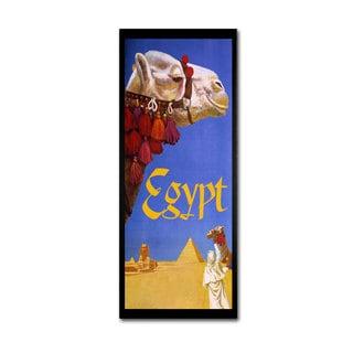 Vintage Apple Collection 'Egypt Camel' Canvas Art