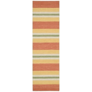 Barclay Butera Oxford Citrus Area Rug by Nourison (2'3 x 8')
