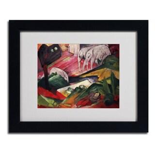Franz Marc 'The Dream' Framed Matted Art