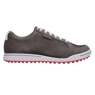 Ashworth Men's Cardiff Iron/ White/ Toro Golf Shoes