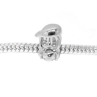 De Buman Sterling Silver Little Girl Charm Bead