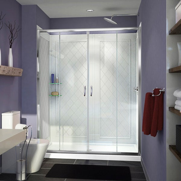 Shop Dreamline Visions Frameless Sliding Shower Door 32