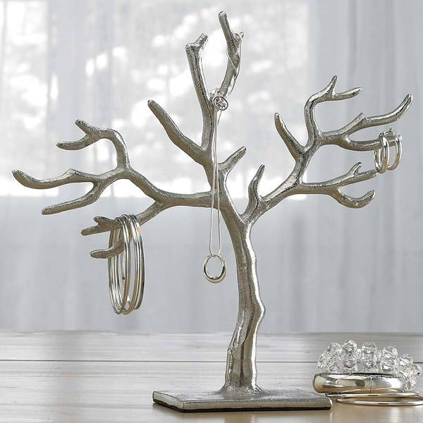 20 branch casted 39 tree of life 39 jewelry holder free for Tree branch jewelry holder