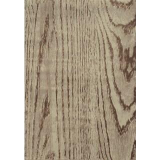 Wood Grain Stone/ Brown Rug (1'11 x 3'3)