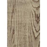 Wood Grain Stone/ Brown Rug - 3'10 x 5'5