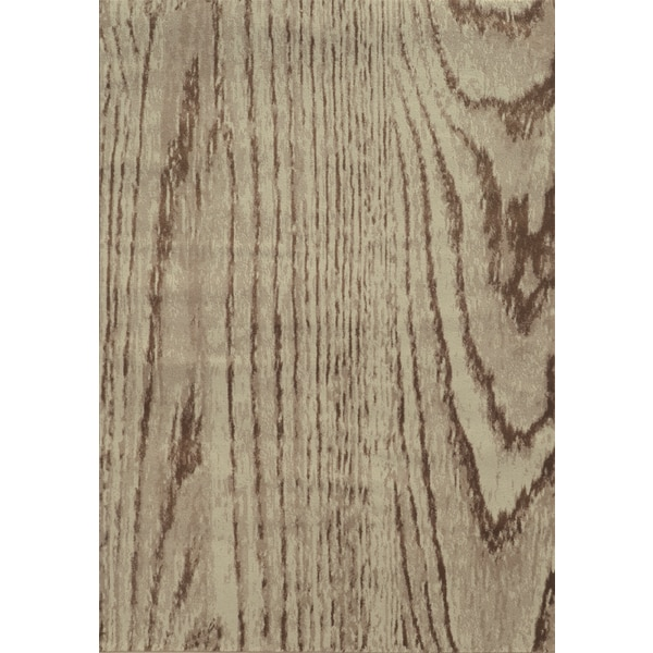 Shop Wood Grain Stone Brown Rug 7 10 X 10 10 Free