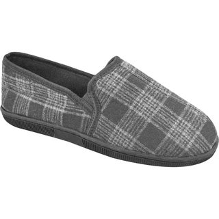 Muk Luks Men's Plaid Flannel Slippers