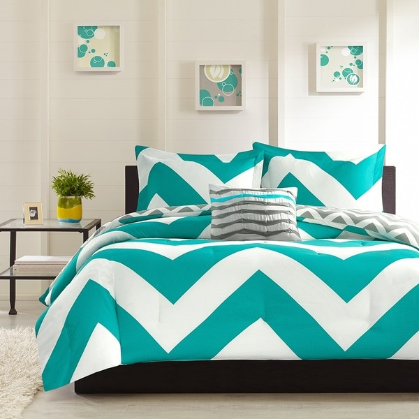 Mi Zone Aries Blue Comforter Set