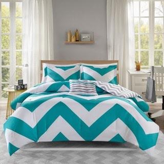 Mi Zone Aries Blue Comforter Set