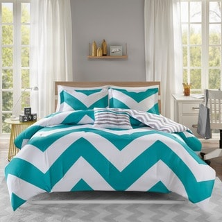 Mi Zone Aries Blue Reversible Comforter Set