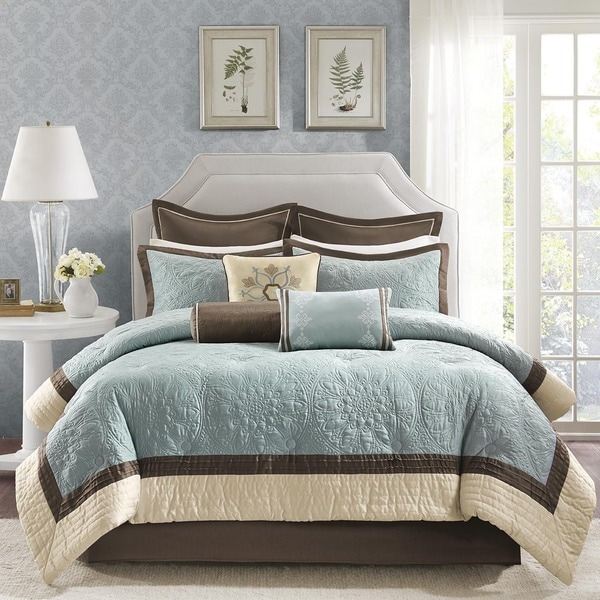 Madison Park Melanie 9 Piece Comforter Set
