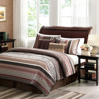 Madison Park Dartmouth 5-piece Coverlet Set 2-Color Option