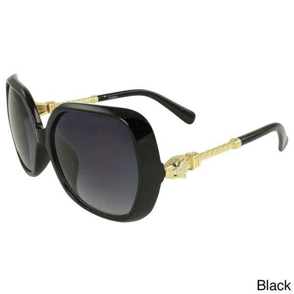 Apopo Eyewear Women's 'Cobra' Shield Sunglasses