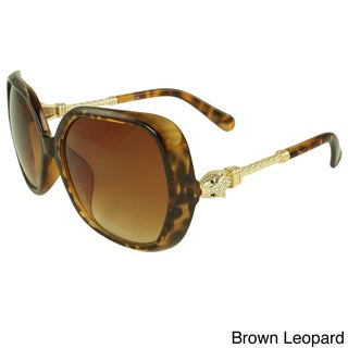 Apopo Eyewear Women's 'Cobra' Shield Sunglasses