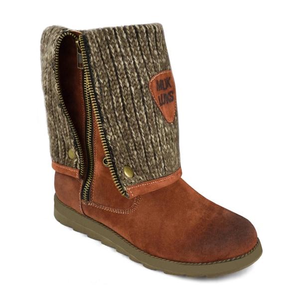 Muk Luks Demi Zip Up Boot