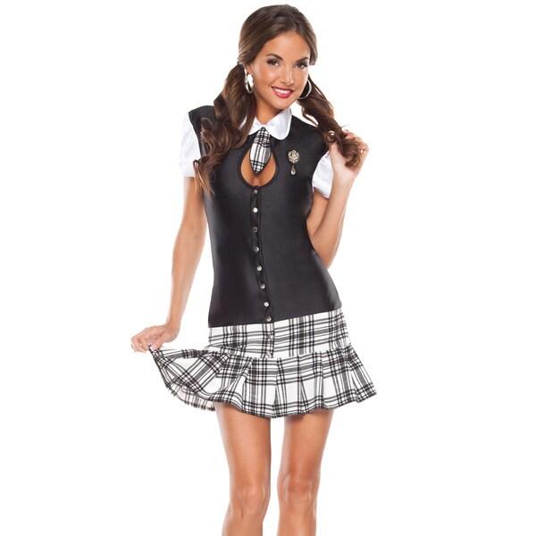 Masquerade MWomen's 3-piece School Girl Dress Set