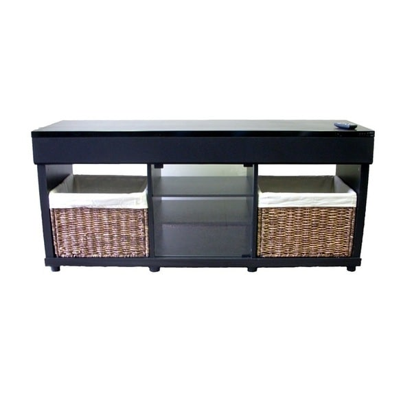 Shop Tv Stand With Built In Surround Sound Speaker System Free
