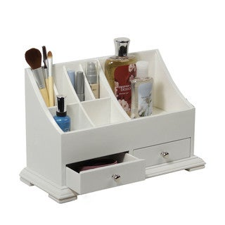 Richards Homewares White Small Cosmetic Organizer