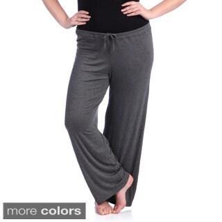24/7 Comfort Apparel Women's Plus Drawstring Straight Leg Pants (Option: Xl)|https://ak1.ostkcdn.com/images/products/8431918/24-7-Comfort-Apparel-Womens-Plus-Drawstring-Straight-Leg-Pants-P15728365.jpg?_ostk_perf_=percv&impolicy=medium