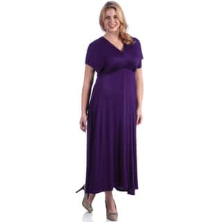bae9617f0ea Buy Purple Women s Plus-Size Dresses Online at Overstock