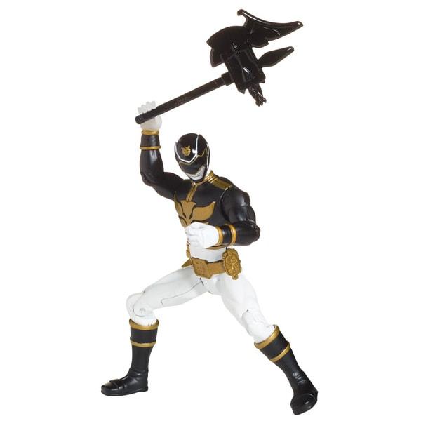 Bandai Power Rangers Black Ranger 4-inch Action Figure