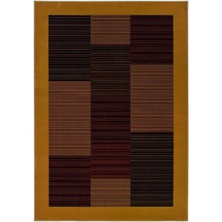 Couristan Everest Hamptons/Camel Area Rug - 3'11 x 5'3