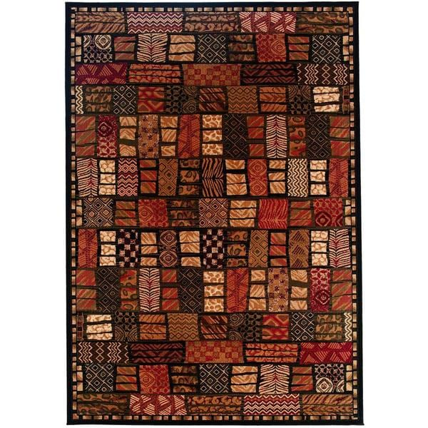 "Everest Cairo Midnight Area Rug - 7'10"" x 11'2"""