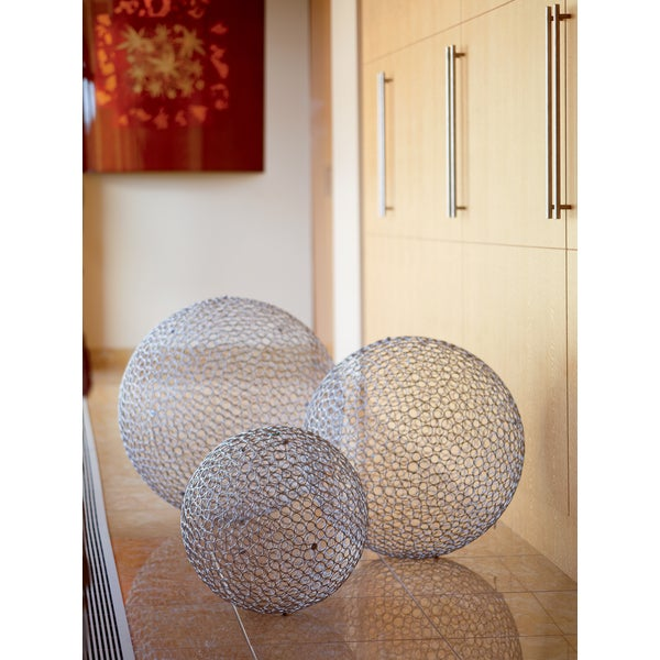 Huge iron decorative ball set of free shipping today