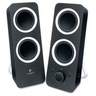 Logitech 2.0 Speaker System - Black