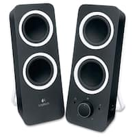 Logitech Z200 2.0 Speaker System - Black