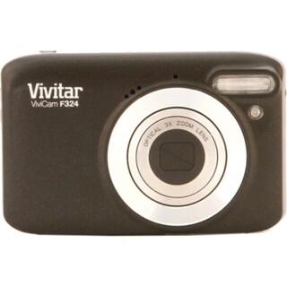 Vivitar ViviCam F324 14.1 Megapixel Compact Camera - Black