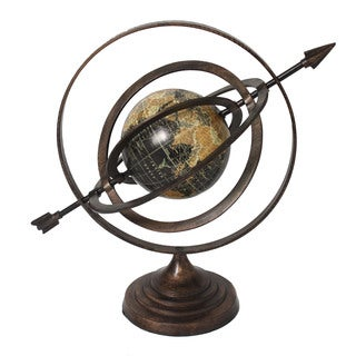 Armillary Sphere World Globe Table and Studio Decor