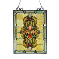 Middleton Medallion Stained Gl Window Panel Free Shipping Today