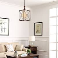 Laurel Creek Harper Antique Copper Iron Chandelier