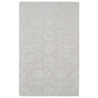 Trends Ivory Classic Wool Rug (9'6 x 13'6)