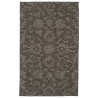 Trends Dark Taupe Classic Wool Rug (8'0 x 11'0)