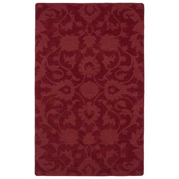 Trends Red Classic Wool Rug - 9'6 x 13'6