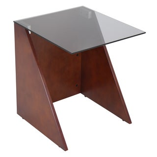 Tabulo Bent Walnut Wood Side Table