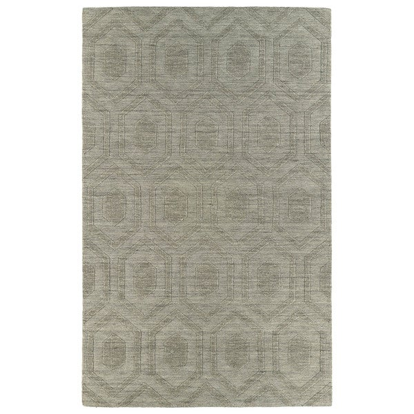 Trends Light Brown Loft Wool Rug (8' x 11') - 8' x 11'