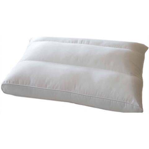 DOWNLITE Posture Fit Side Sleeper Pillow - White