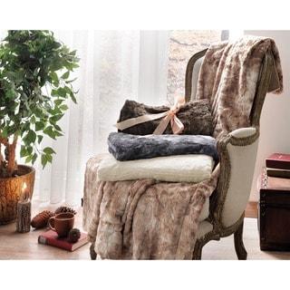 Brielle Faux Fur Reversible Blanket