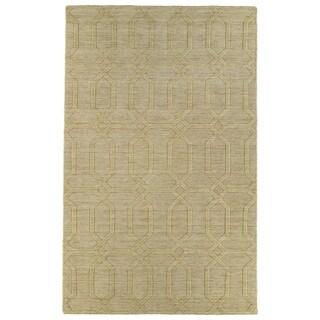 Trends Yellow Pop Wool Rug (8' x 11')