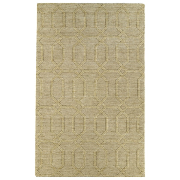 Trends Yellow Pop Wool Rug - 8' x 11'