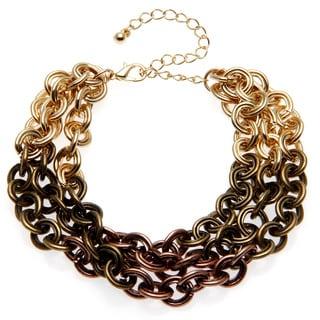 Alexa Starr Tri-color Ombre Chain Bracelet