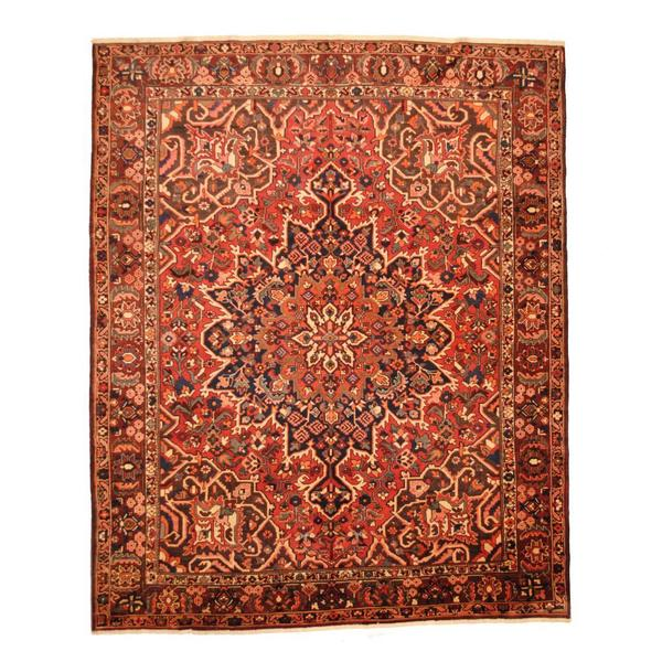 Shop Antique 1960's Persian Hand-knotted Tribal Bakhtiari